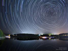 Borsko jezero startrail by BorisMrdja