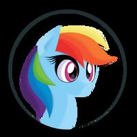 Rainbow Dawshie Head Avatar by IvaCatheriaNoid