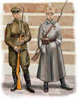 ww1 - Russian Women' Battailon by AndreaSilva60