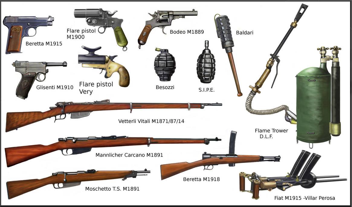 WW1 Italian Weapon by AndreaSilva60 on DeviantArt