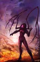 Vengeance of Sarah Kerrigan by houdao920