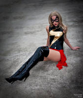 Ms. Marvel Full Body by megmurrderher