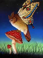 Magic Owl by BenjiiBen