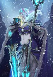 Frozen Throne Jaina by rivertem