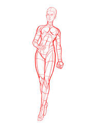 Female Standing by POSEmuse