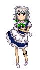 Pixel - EoSD Sakuya by killerplatypus