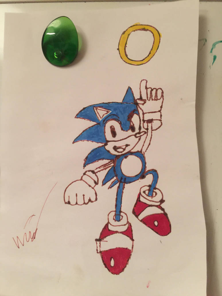 Sonic  by blackstudi0