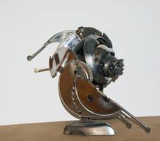 The flying eye by Muti-Valchev