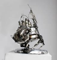 Steampunk flea 3 by Muti-Valchev