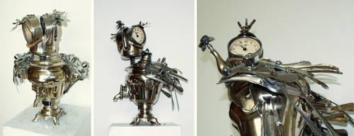 Clock chicken by Muti-Valchev