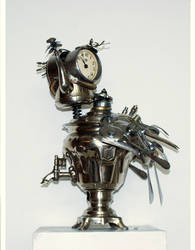 Clock bird 2 by Muti-Valchev