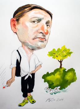 Caricature by Muti-Valchev