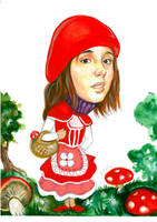 Little red riding hood by Muti-Valchev