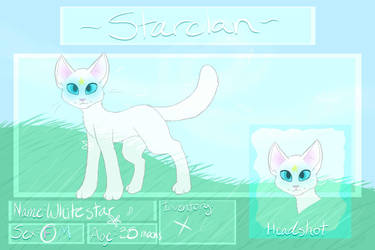 Whitestar Ref by BeadFeather