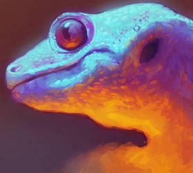 Gecko by VictraART