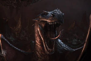Black Stone Dragon by RAPHTOR