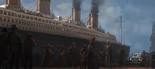 RMS Titanic by RAPHTOR
