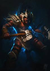 DOTA 2 - Troll Warlord by RAPHTOR