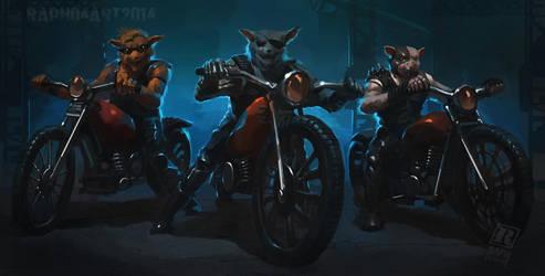 Biker Mice by RAPHTOR