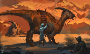 Dino Rider 2 by RAPHTOR
