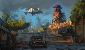 Post apocalyptic Manila by RAPHTOR