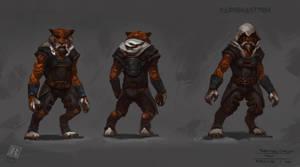 TMNT Tiger Claw design by RAPHTOR