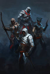 Assassin's Creed Commission by RAPHTOR