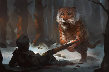 Tiger  Fighter by RAPHTOR
