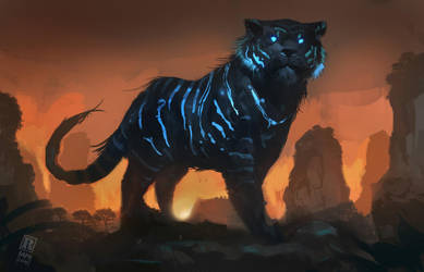 Mystic Tiger by RAPHTOR
