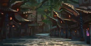 Voodoo Village by RAPHTOR