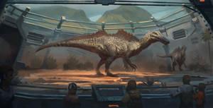 Mesozoic Land : Ichthyovenator by RAPHTOR