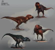 Tyrannosaurus Rex Skins by RAPHTOR