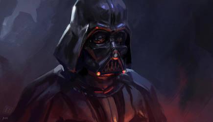 Vader speedpaint by RAPHTOR