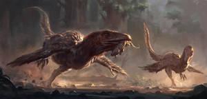 Deinonychus by RAPHTOR