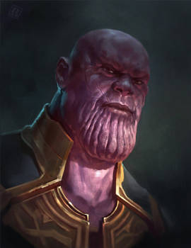 Nutsack chin Thanos by RAPHTOR