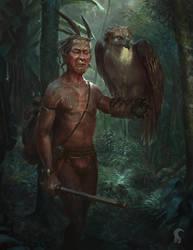 Musang and Amihan by RAPHTOR