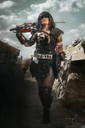Xena Road Warrior by alystrin