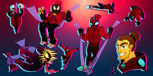 the Swinger - my spidersona by MangaAngel