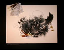 Circling Skies - Kookaburra by cryslara