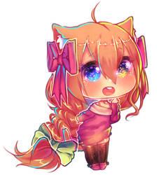 Mineko-chan by Minekohana
