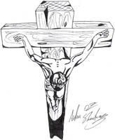 aidan8500 deviantart 22B STi Engine christ on the cross by aidan8500