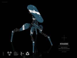 KRABBE   Amphibious Exploration Drone by M-Vitzh