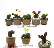 Handmade Cactus by XQFashion