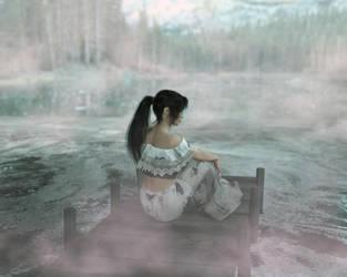 Dark Lake by 3Dfantasyworld