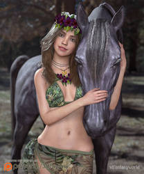 Exotic Girl by 3Dfantasyworld