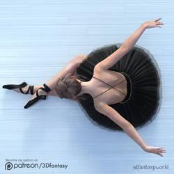 Ballerina Girl by 3Dfantasyworld