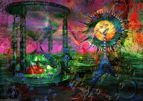 Psychedelic Ride by Fotomonta