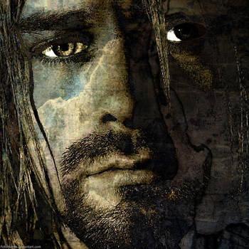 Kurt Cobain by Fotomonta