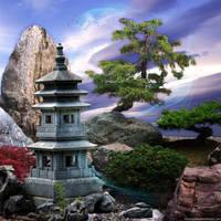 Japanese Garden by Fotomonta