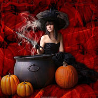 Halloween Beauty by Fotomonta